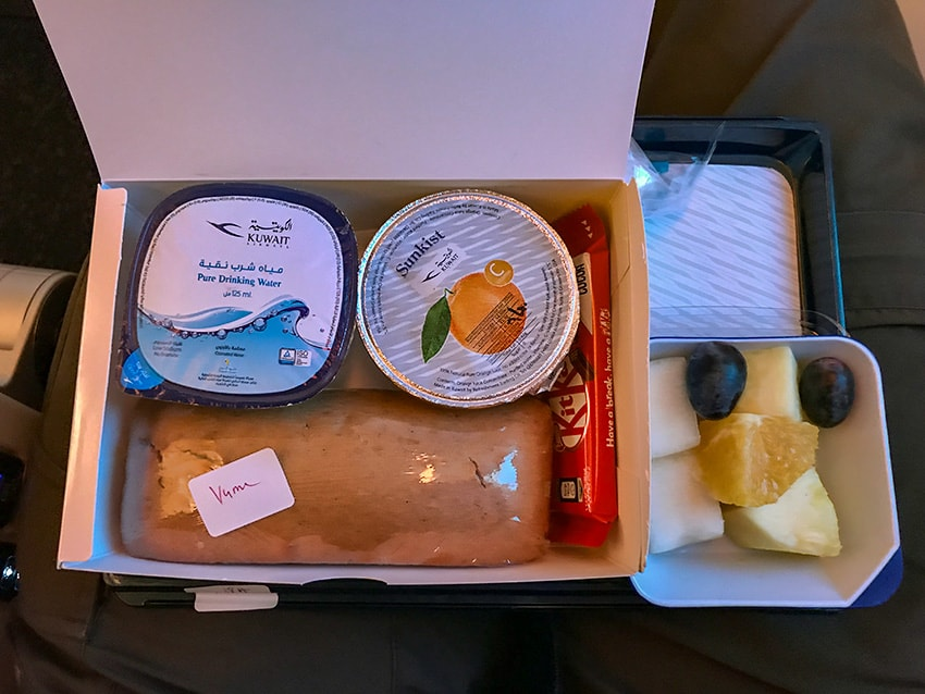 Vegetarian Breakfast Kuwait Airways