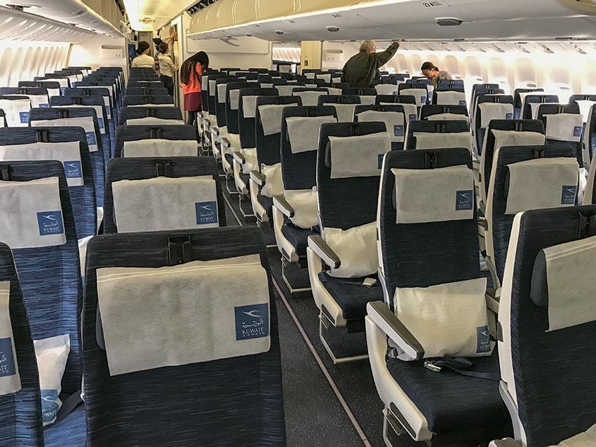 Economy Class Kuwait Airways