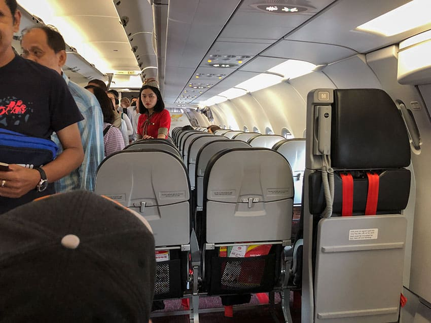 Exit row seat VietJet Air