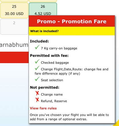 VietJet Air Promotion Fare