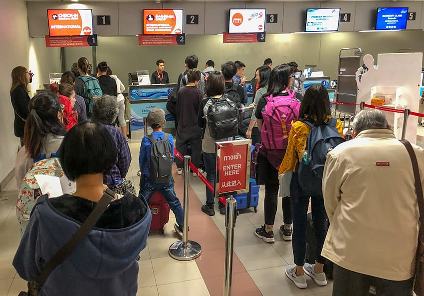 AirAsia Check In Chiang Mai
