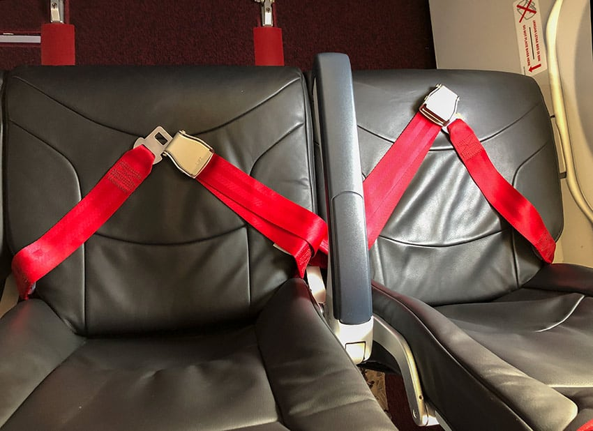 Emergency Exit Seat AirAsia A330-200neo
