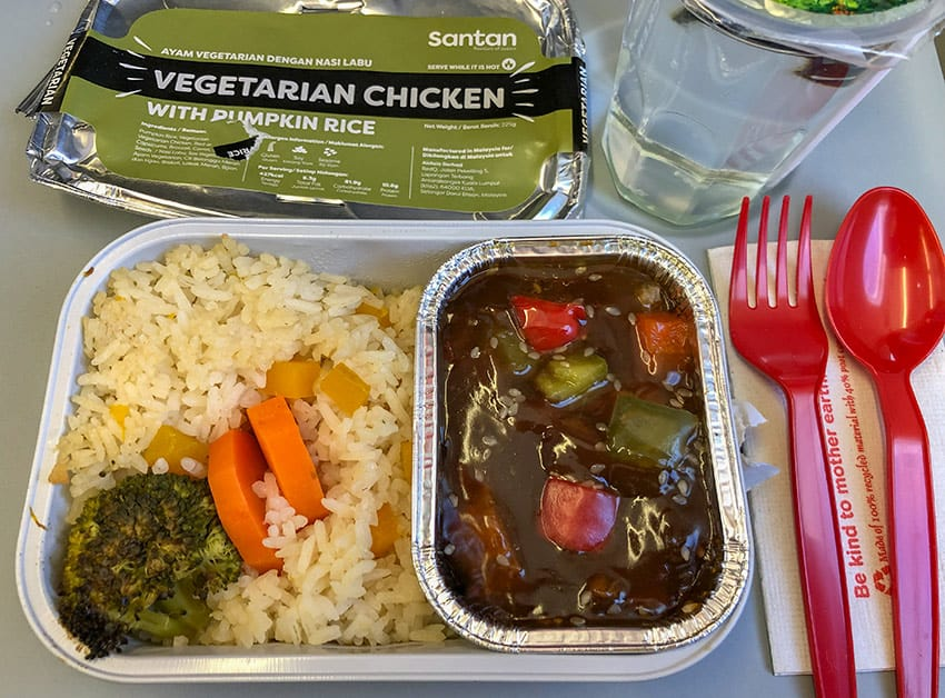 AirAsia Vegetarian Chicken