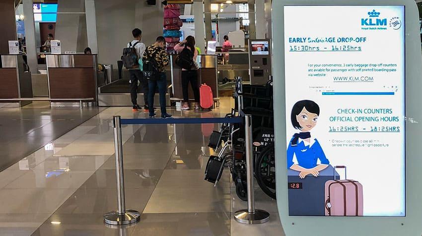 Early Boarding KLM Jakarta Kuala Lumpur