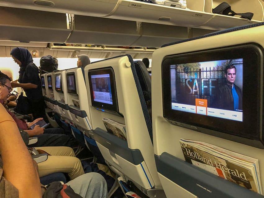 Seats KLM