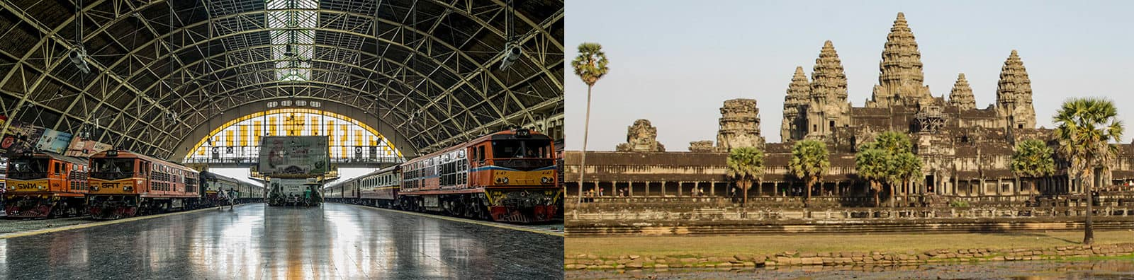 Cheapest way Angkor Wat to Bangkok