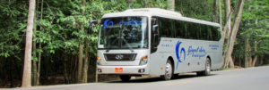 Bus Phnom Penh to Siam Reap