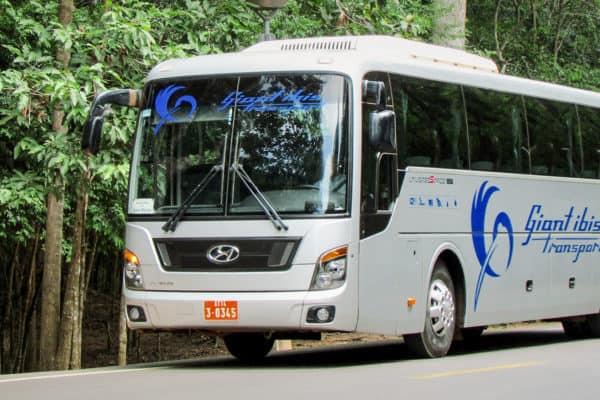 Giant Ibis Bus Phnom Penh to Siam Reap