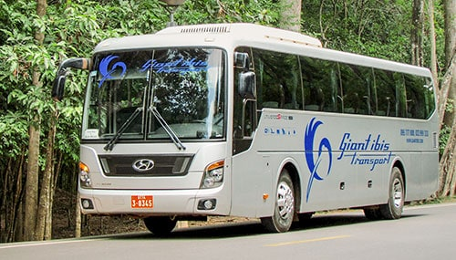 Giant Ibis Bus Phnom Penh to Siam Reap