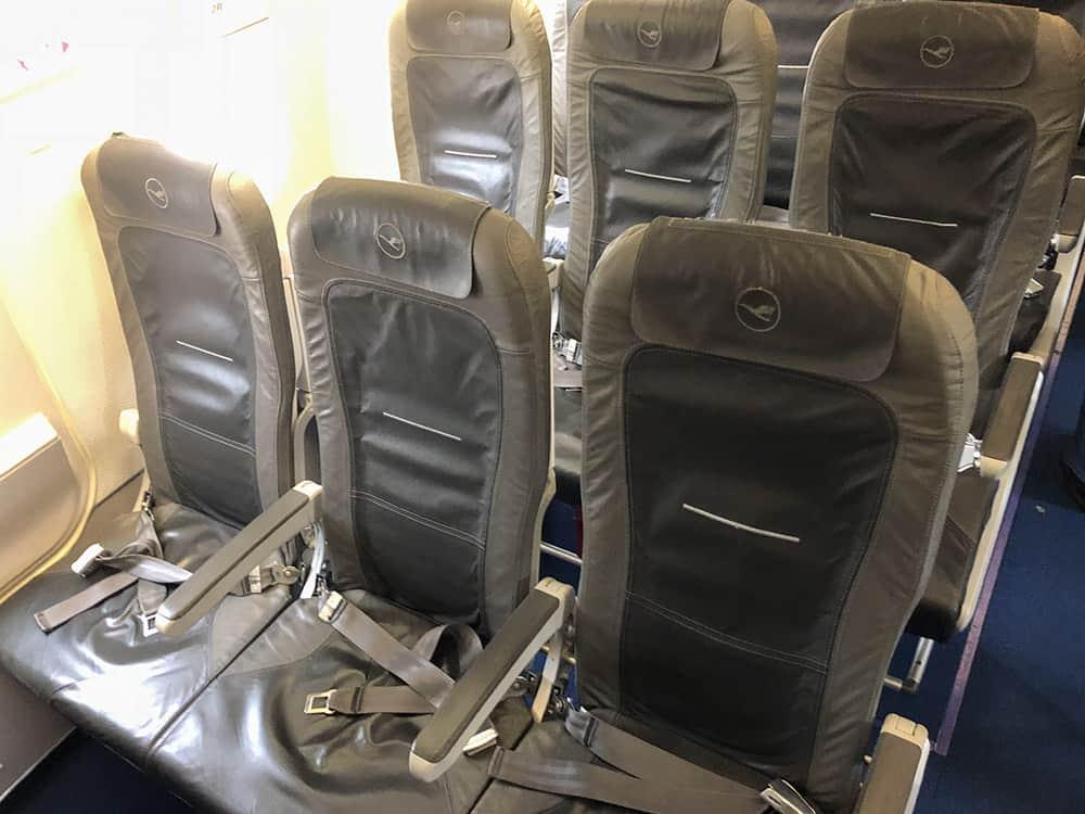 Lufthansa A320 Seat