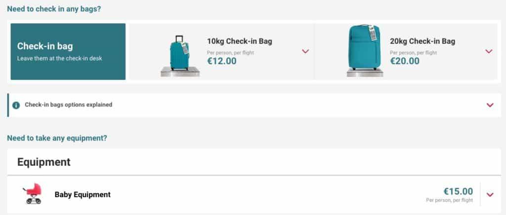 Lauda Check-In Bag
