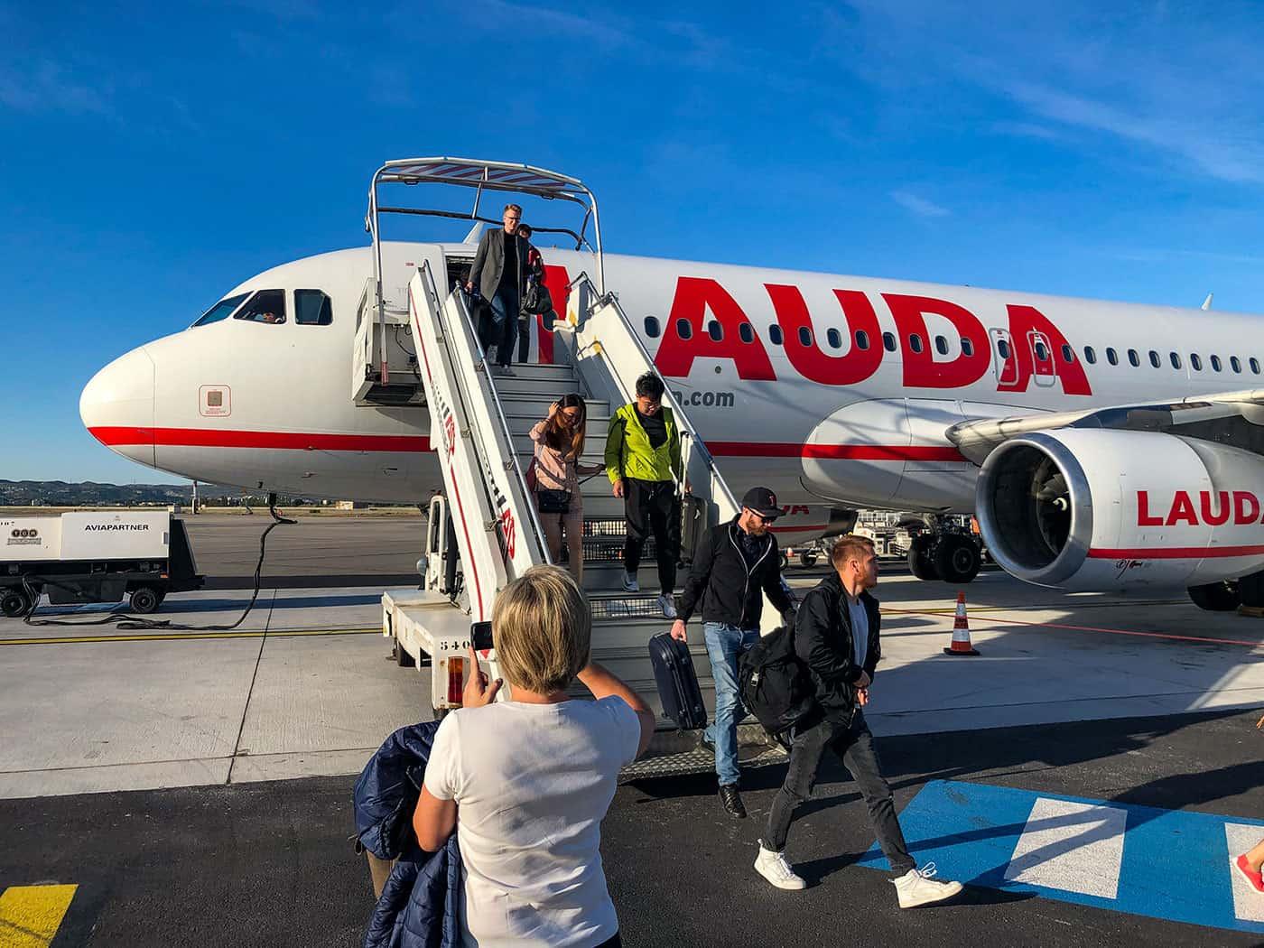 Lauda A320 in Marseille