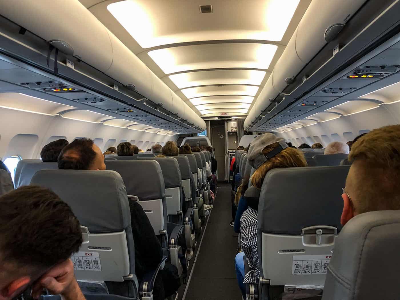Lauda Cabin Airbus A320